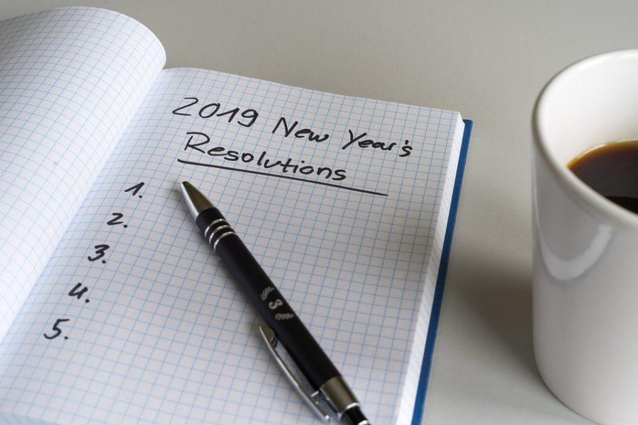 Vorsätze im Neuen Jahr